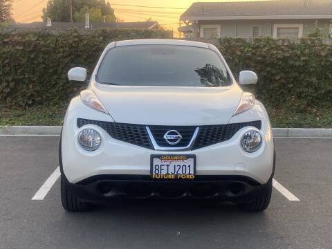 2013 Nissan JUKE for sale at CARFORNIA SOLUTIONS in Hayward CA