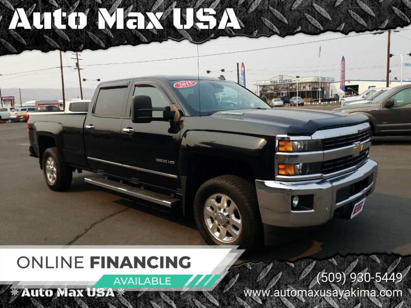2015 Chevrolet Silverado 3500HD for sale at Auto Max USA in Yakima WA