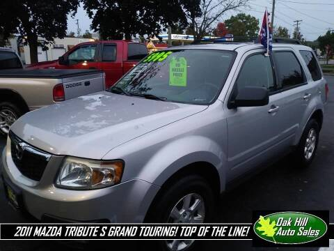2011 Mazda Tribute for sale at Oak Hill Auto Sales of Wooster, LLC in Wooster OH