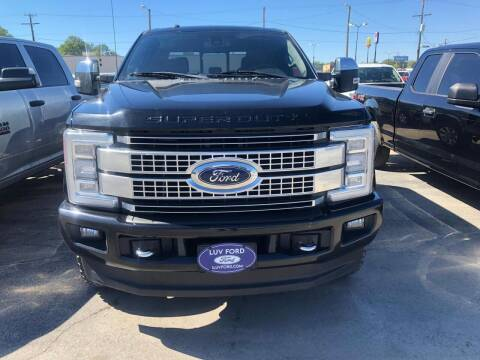 2017 Ford F-250 Super Duty for sale at Luv Motor Company in Roland OK