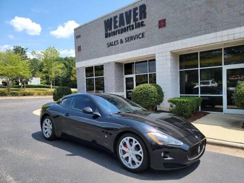 2008 Maserati GranTurismo for sale at Weaver Motorsports Inc in Cary NC