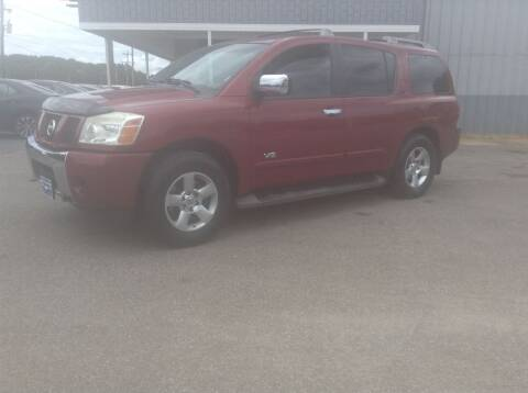 2007 Nissan Armada for sale at Darryl's Trenton Auto Sales in Trenton TN