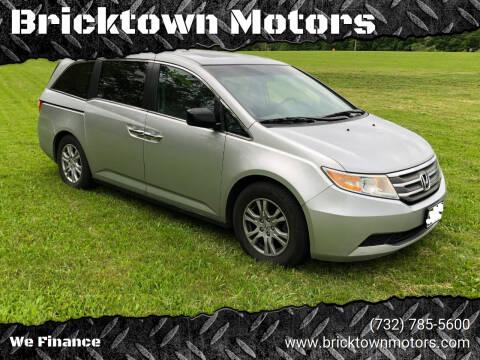 2011 Honda Odyssey for sale at Bricktown Motors in Brick NJ