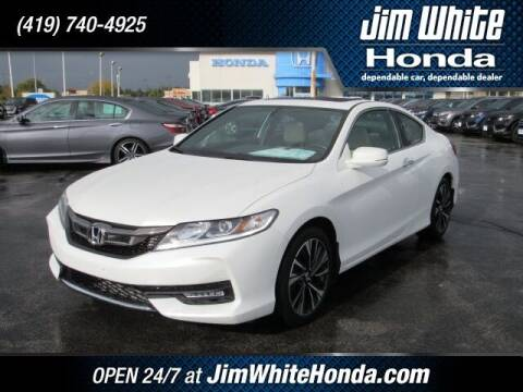 2017 Honda Accord for sale at The Credit Miracle Network Team at Jim White Honda in Maumee OH