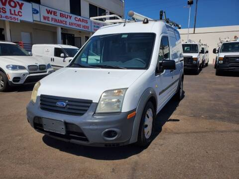 2012 Ford Transit Connect for sale at Convoy Motors LLC in National City CA