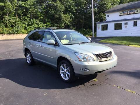 2008 Lexus RX 350 for sale at Mikes Import Auto Sales INC in Hooksett NH