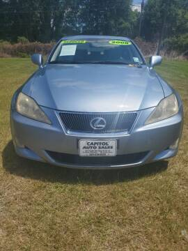 2008 Lexus IS 250 for sale at CAPITOL AUTO SALES LLC in Baton Rouge LA