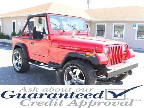 1991 Jeep Wrangler for sale at Universal Auto Sales in Plant City FL