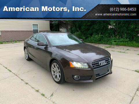 2012 Audi A5 for sale at American Motors, Inc. in Farmington MN