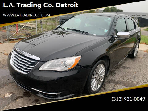 2012 Chrysler 200 for sale at L.A. Trading Co. Woodhaven - L.A. Trading Co. Detroit in Detroit MI