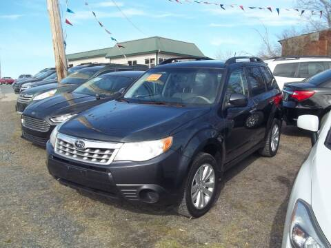 2013 Subaru Forester for sale at Warner's Auto Body of Granville Inc in Granville NY