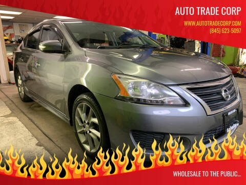 2015 Nissan Sentra for sale at AUTO TRADE CORP in Nanuet NY