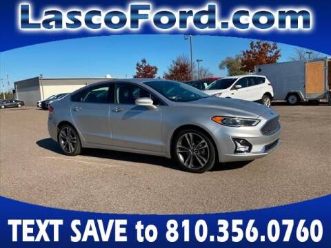 2019 Ford Fusion for sale at Lasco of Grand Blanc in Grand Blanc MI