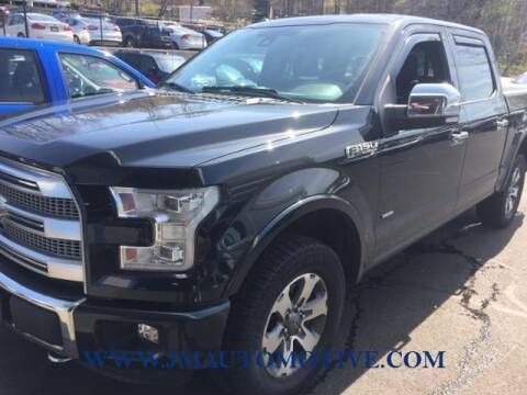 2015 Ford F-150 for sale at J & M Automotive in Naugatuck CT