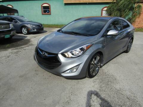 2014 Hyundai Elantra Coupe for sale at S & T Motors in Hernando FL