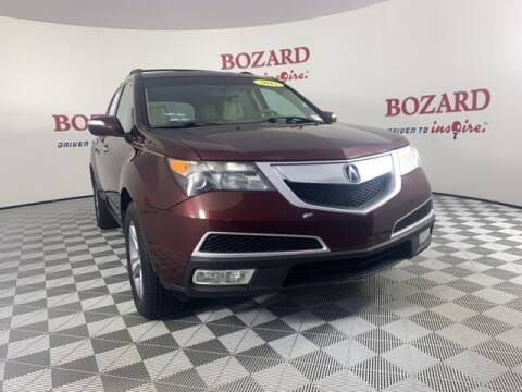 2012 Acura MDX for sale at BOZARD FORD in Saint Augustine FL