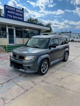 2009 Honda Element for sale at Right Away Auto Sales in Colorado Springs CO