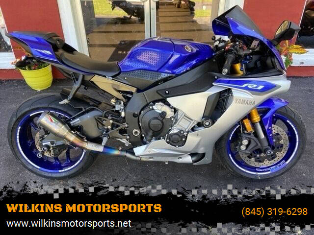 2015 Yamaha YZF-R1 for sale at WILKINS MOTORSPORTS in Brewster NY