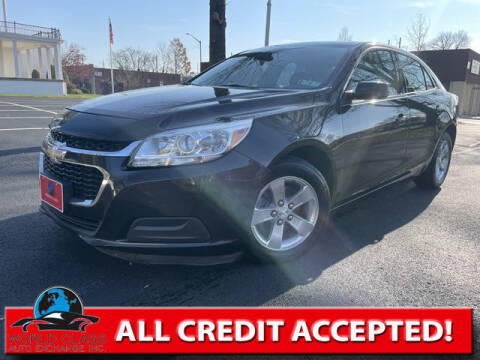 2014 Chevrolet Malibu for sale at World Class Auto Exchange in Lansdowne PA