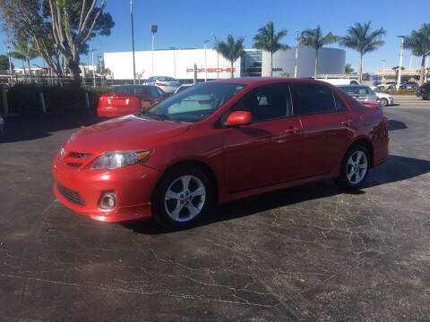 2011 Toyota Corolla for sale at CAR-RIGHT AUTO SALES INC in Naples FL