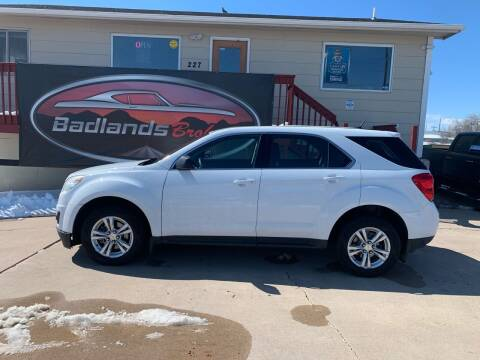 2012 Chevrolet Equinox for sale at Badlands Brokers in Rapid City SD
