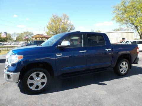 2015 Toyota Tundra for sale at Cars R Us in Chanute KS