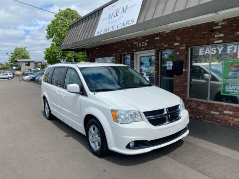 2011 Dodge Grand Caravan for sale at M&M Auto Sales in Portland OR