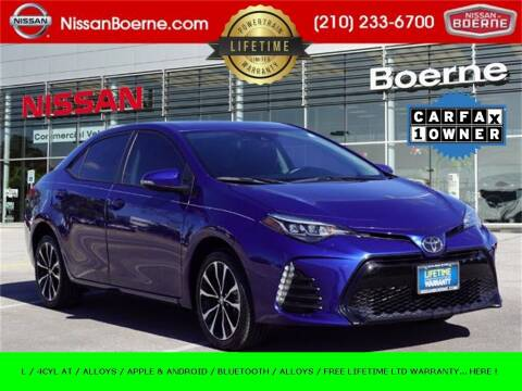 2019 Toyota Corolla for sale at Nissan of Boerne in Boerne TX