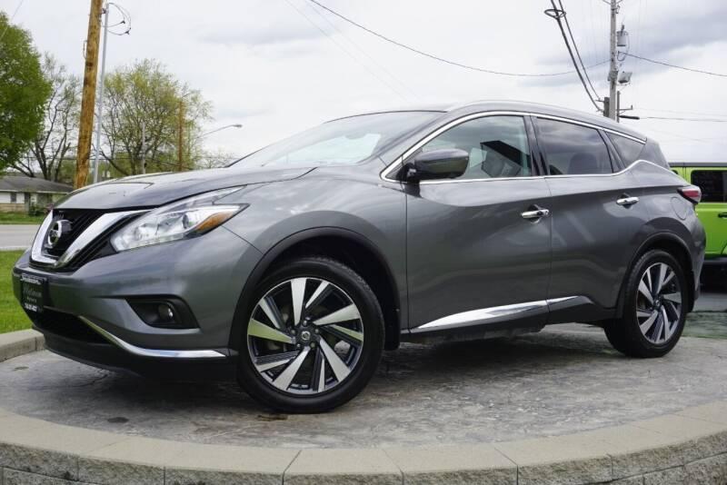 2017 Nissan Murano for sale at Platinum Motors LLC in Heath OH
