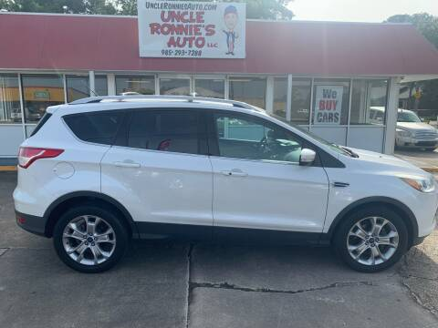 2014 Ford Escape for sale at Uncle Ronnie's Auto LLC in Houma LA