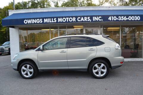 2007 Lexus RX 350 for sale at Owings Mills Motor Cars in Owings Mills MD