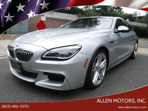 2017 BMW 6 Series for sale at Allen Motors, Inc. in Thousand Oaks CA