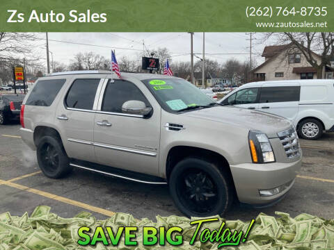 2008 Cadillac Escalade for sale at Zs Auto Sales in Kenosha WI