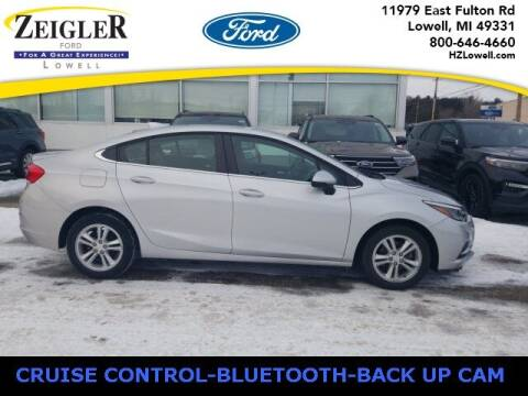 2017 Chevrolet Cruze for sale at Zeigler Ford of Plainwell- Jeff Bishop in Plainwell MI