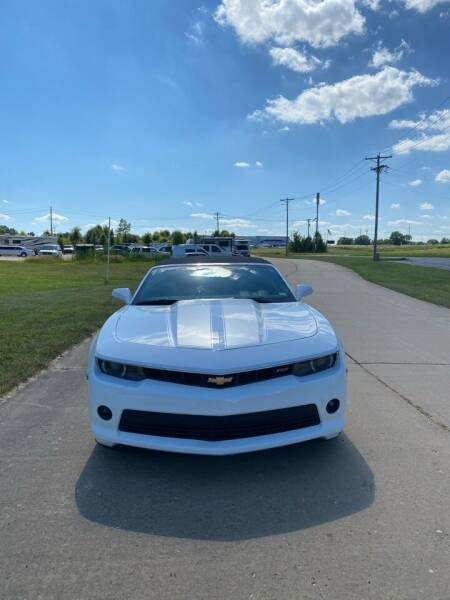 2015 Chevrolet Camaro for sale at MJ'S Sales in Foristell MO