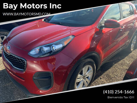 2018 Kia Sportage for sale at Bay Motors Inc in Baltimore MD