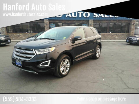 2015 Ford Edge for sale at Hanford Auto Sales in Hanford CA
