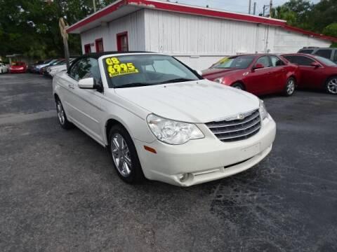 2008 Chrysler Sebring for sale at DONNY MILLS AUTO SALES in Largo FL