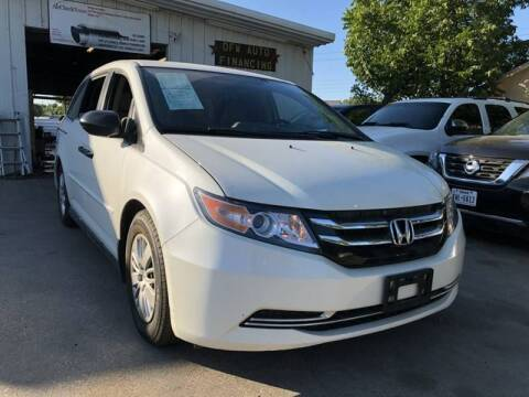 2015 Honda Odyssey for sale at Bad Credit Call Fadi in Dallas TX