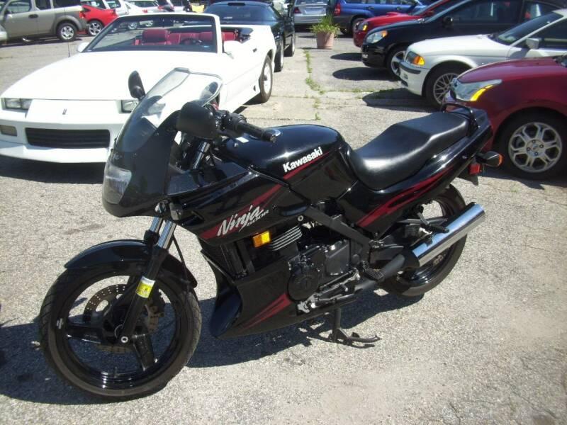 2007 Kawasaki Ninja 500R for sale at Rooney Motors in Pawling NY