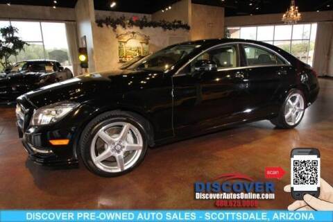 2014 Mercedes-Benz CLS for sale at Discover Pre-Owned Auto Sales in Scottsdale AZ