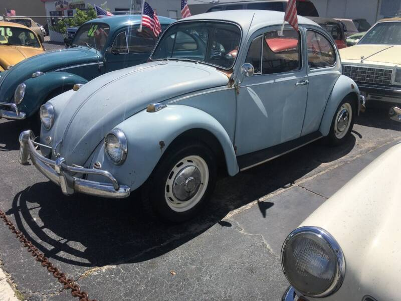 1967 Volkswagen Beetle for sale at TOP TWO USA INC in Oakland Park FL