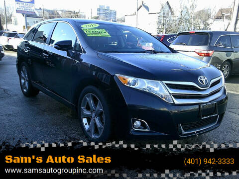 2013 Toyota Venza for sale at Sam's Auto Sales in Cranston RI