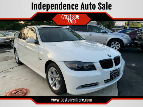 2008 BMW 3 Series for sale at Independence Auto Sale in Bordentown NJ