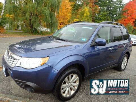 2013 Subaru Forester for sale at S & J Motor Co Inc. in Merrimack NH