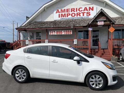 2017 Kia Rio for sale at American Imports INC in Indianapolis IN