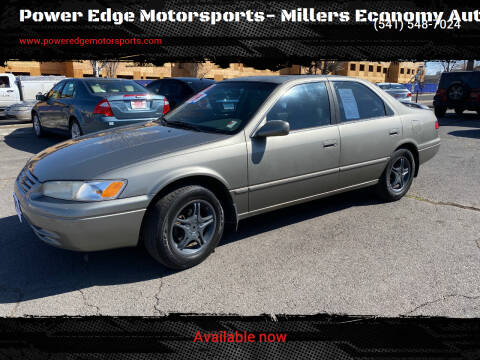 1999 Toyota Camry for sale at Power Edge Motorsports- Millers Economy Auto in Redmond OR