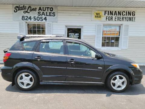 2004 Pontiac Vibe for sale at STATE LINE AUTO SALES in New Church VA
