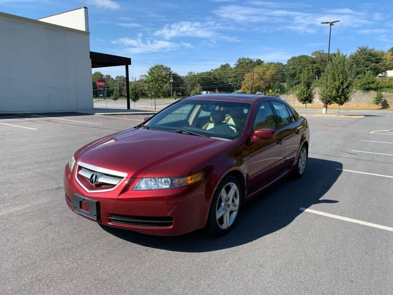 2006 Acura TL for sale at Allrich Auto in Atlanta GA