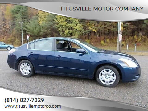 2010 Nissan Altima for sale at Titusville Motor Company in Titusville PA